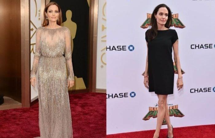 Пару лет назад Анджелина Джоли весила всего 35 кг