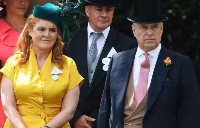 Принц Эндрю с бывшей женой