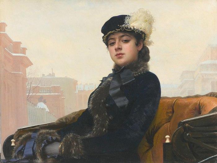 «Неизвестная», Иван Крамской (1883)