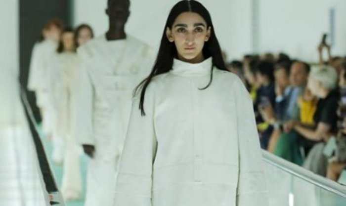 Армине Арутюнян на показе Gucci в Милане