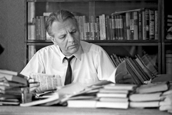 Писатель Сергей Смирнов