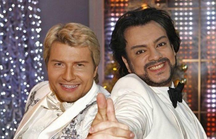 Николай Басков и Филипп Киркоров