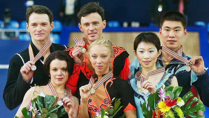 Татьяна Тотьмянина и Максим Маринин - чемпионы Олимпийских игр в Турине