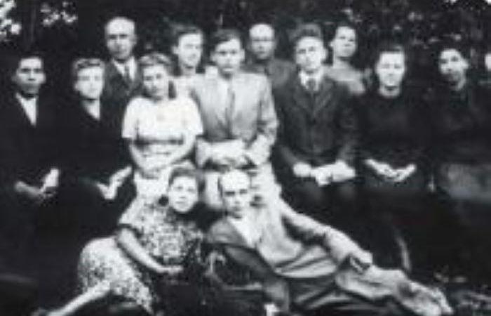 Педагогический состав села Гиска, 1949 г.