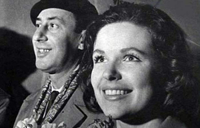 Владимир Басов и Наталья Фатеева