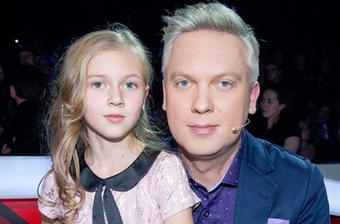 Сергей Светлаков с дочерью Настей