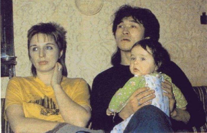 Виктор и Марьяна с сыном Сашей