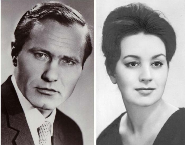 Василий Шукшин и Лидия Чащина