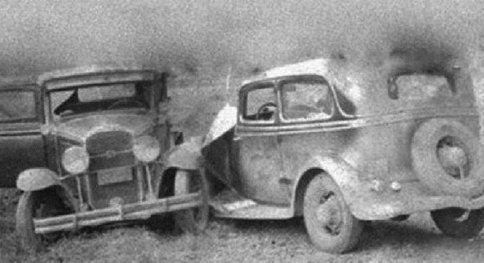 После столкновения в Огайо не осталось ни одной машины