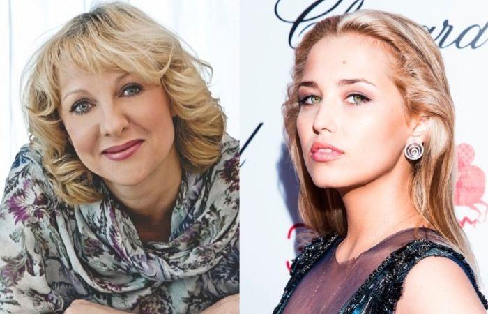Елена Яковлева и Аглая Шиловская