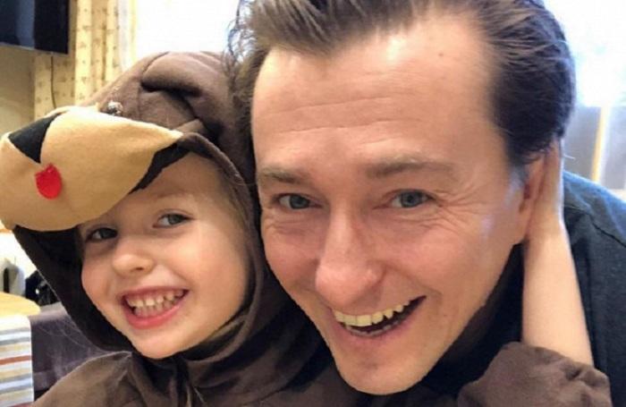 Сергей Безруков с дочерью Машей