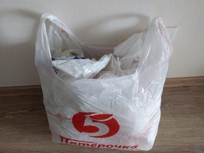 У вас тоже есть пакет с пакетами?