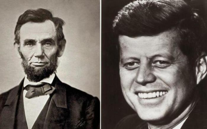 Разница в 100 лет магическим образом связала судьбы двух президентов