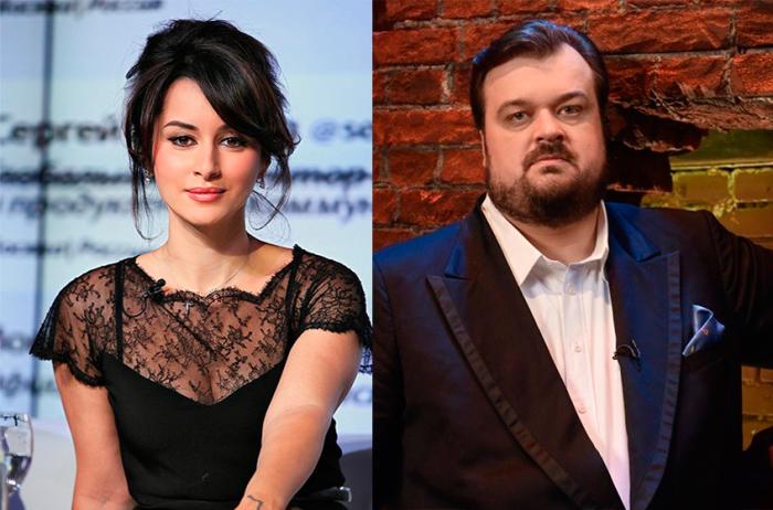 Тина Канделаки и Василий Уткин