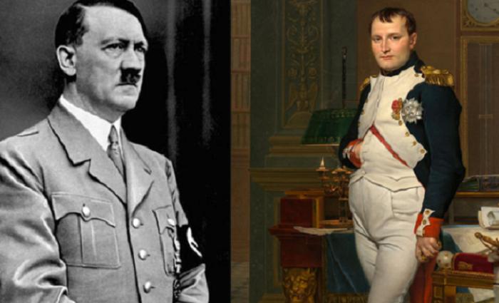 Важные схожие события в жизни Наполеона случились с разницей в 129 лет