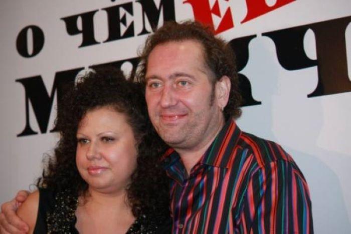 Александр Демидов со второй женой Еленой