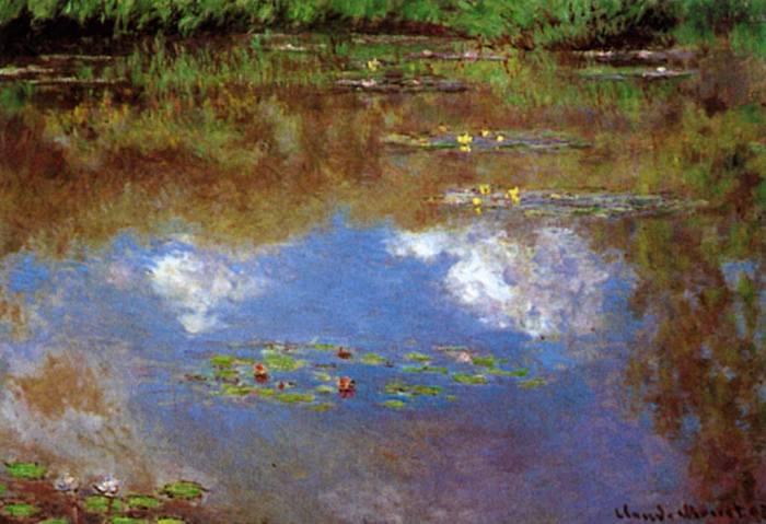«Водяные лилии», Клод Моне (1916)