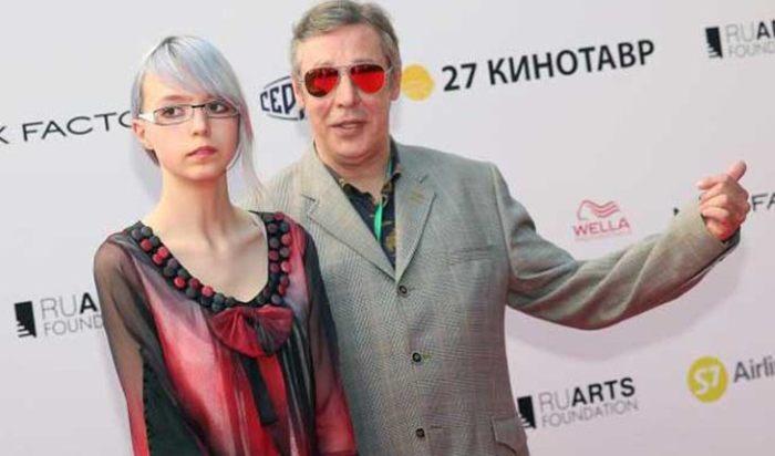 Анна Мария с отцом Михаилом Ефремовым