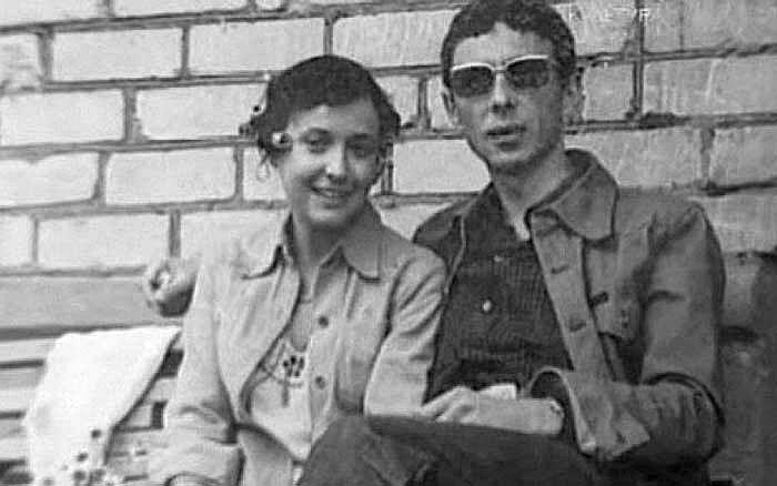 Елизавета Апраксина и Олег Даль