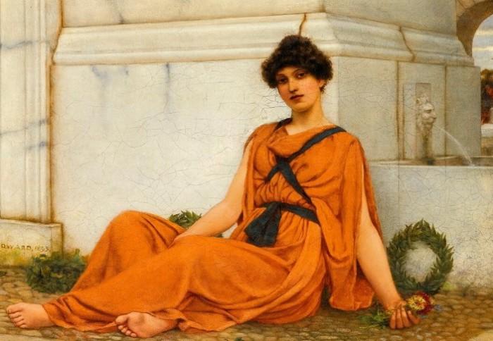 Бледная кожа и рыжие волосы считались идеалом красоты в период античности.