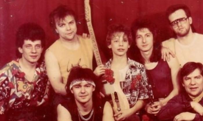 Так выглядел первый состав группы.