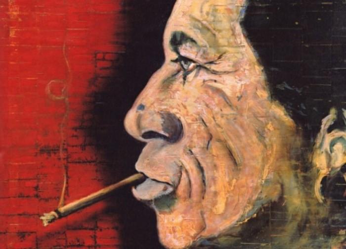 Одна из картин Джонни Деппа.