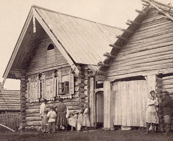 Так выглядел дом крестьянина, крепко стоящего на ногах.