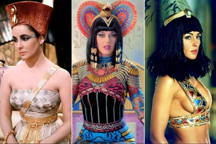 Образ Клеопатры пытались воссоздать многие актрисы.