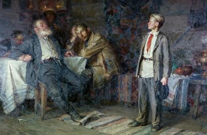 Галстук Павлик не носил и пионером не был.