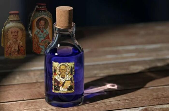Бутылек Аква Тофана мог выглядеть примерно так.