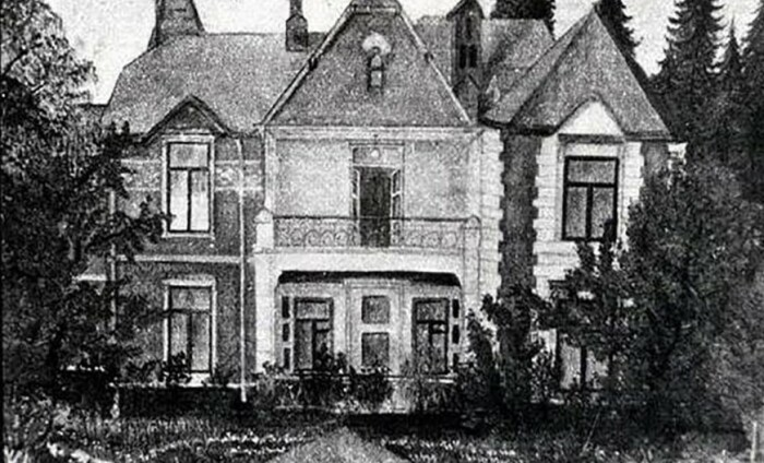 Фотографий дома в Зубалово почти не сохранилось.