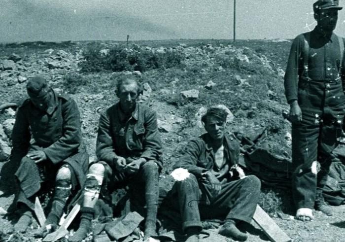В отношениях фашистских пленных не было единства и согласия.