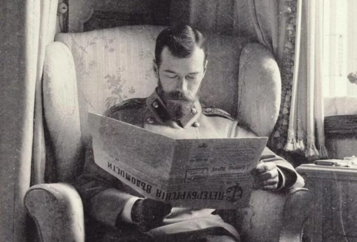 Николай читал не только отечественную, но и зарубежную прессу.