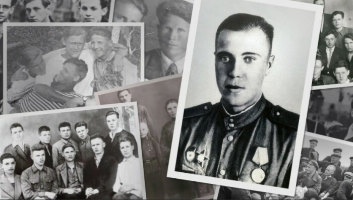 Фото военных лет Виктора Астафьева.