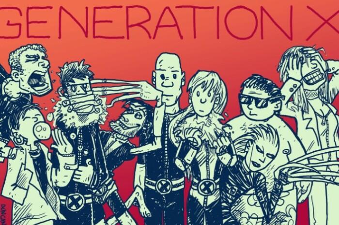 У поколения Икс молодость была весьма насыщенной.