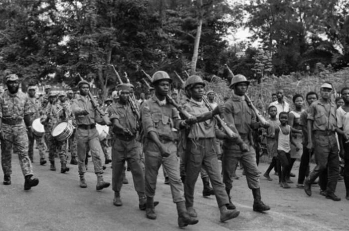 Гражданская война в Нигерии.