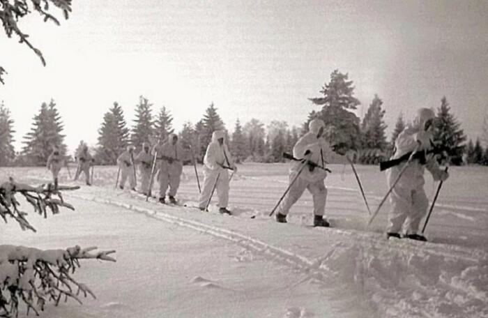Лыжные батальоны обладали неоспоримым преимуществом.
