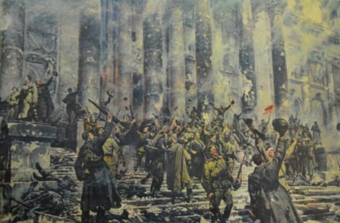 Победа у подступах к Рейхстагу.
