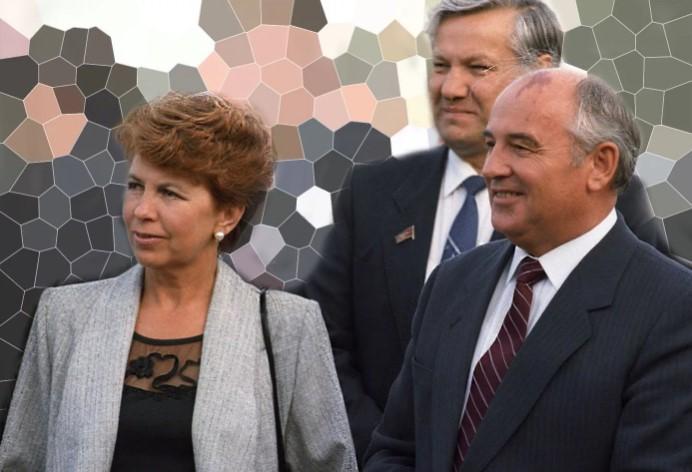 Изящная она и статный он - Горбачевы были прекрасной парой.