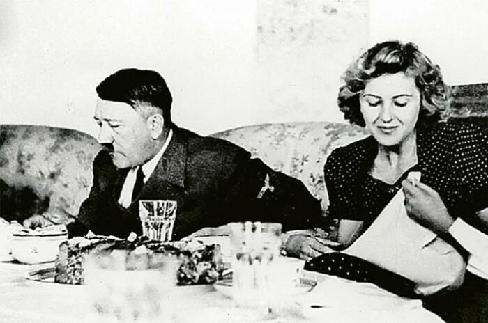 Ева Браун прождала Гитлера всю жизнь и сумела стать его законной женой.