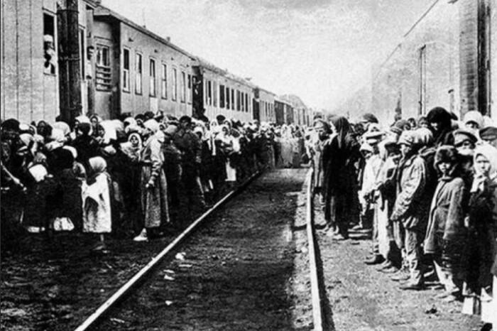 Зачастую переселенцы приезжали на необжитые территории.