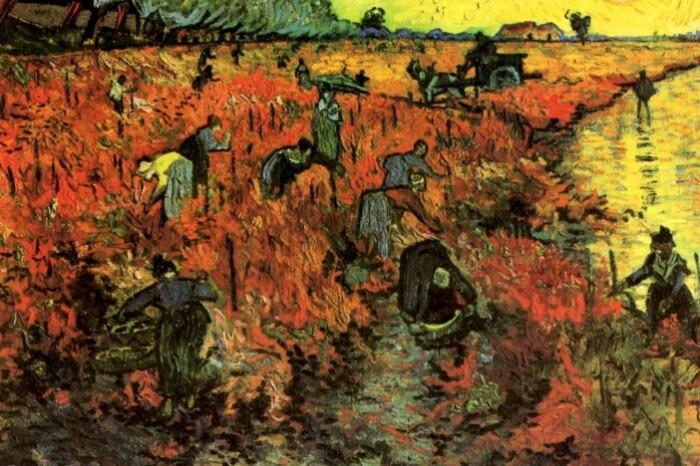 Единственная картина ван Гога, которую он смог продать при жизни.