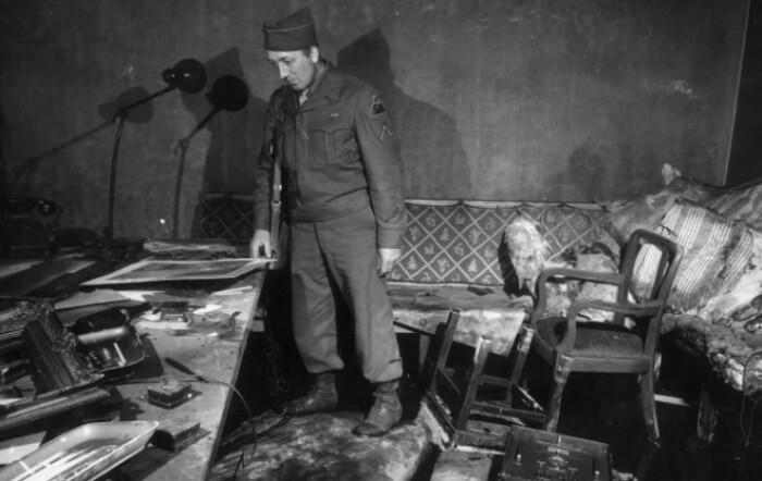Берлинский бункер Гитлера.
