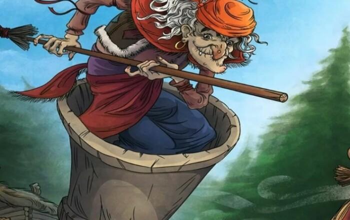 Редко какая русская сказка обходится без Бабы-Яги.