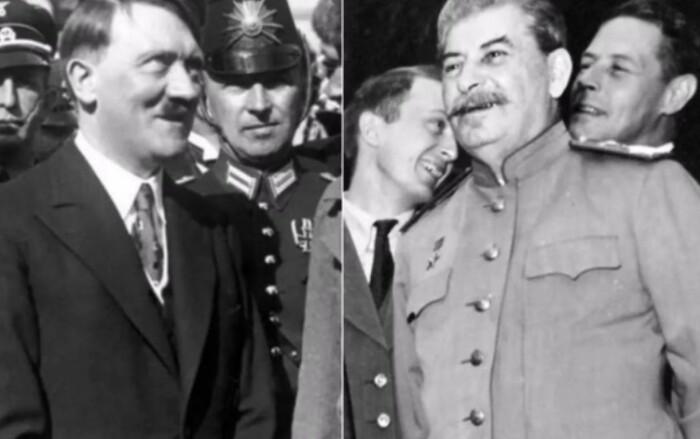 Гитлер и Сталин никогда не общались напрямую.