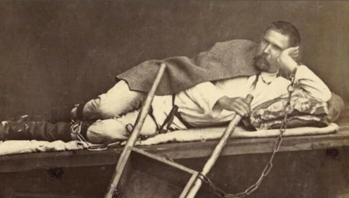 В 19 веке каторжникам перестали отрывать ноздри.