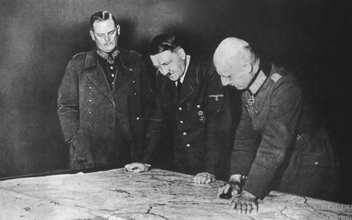Гитлер редко прислушивался к своим военачальникам.