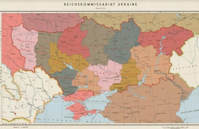 У Гитлера были, что называется наполеоновские планы по захвату СССР.