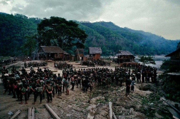 Война в Бирме.