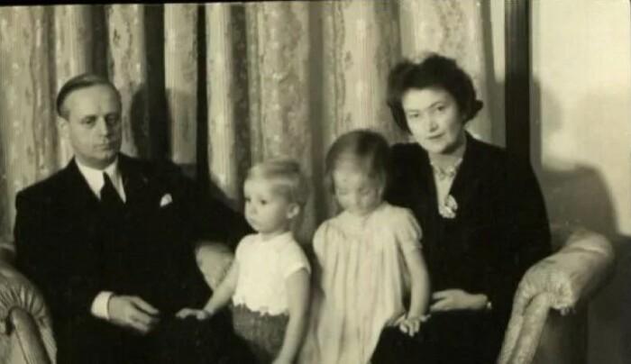 Семейство Риббентропов.